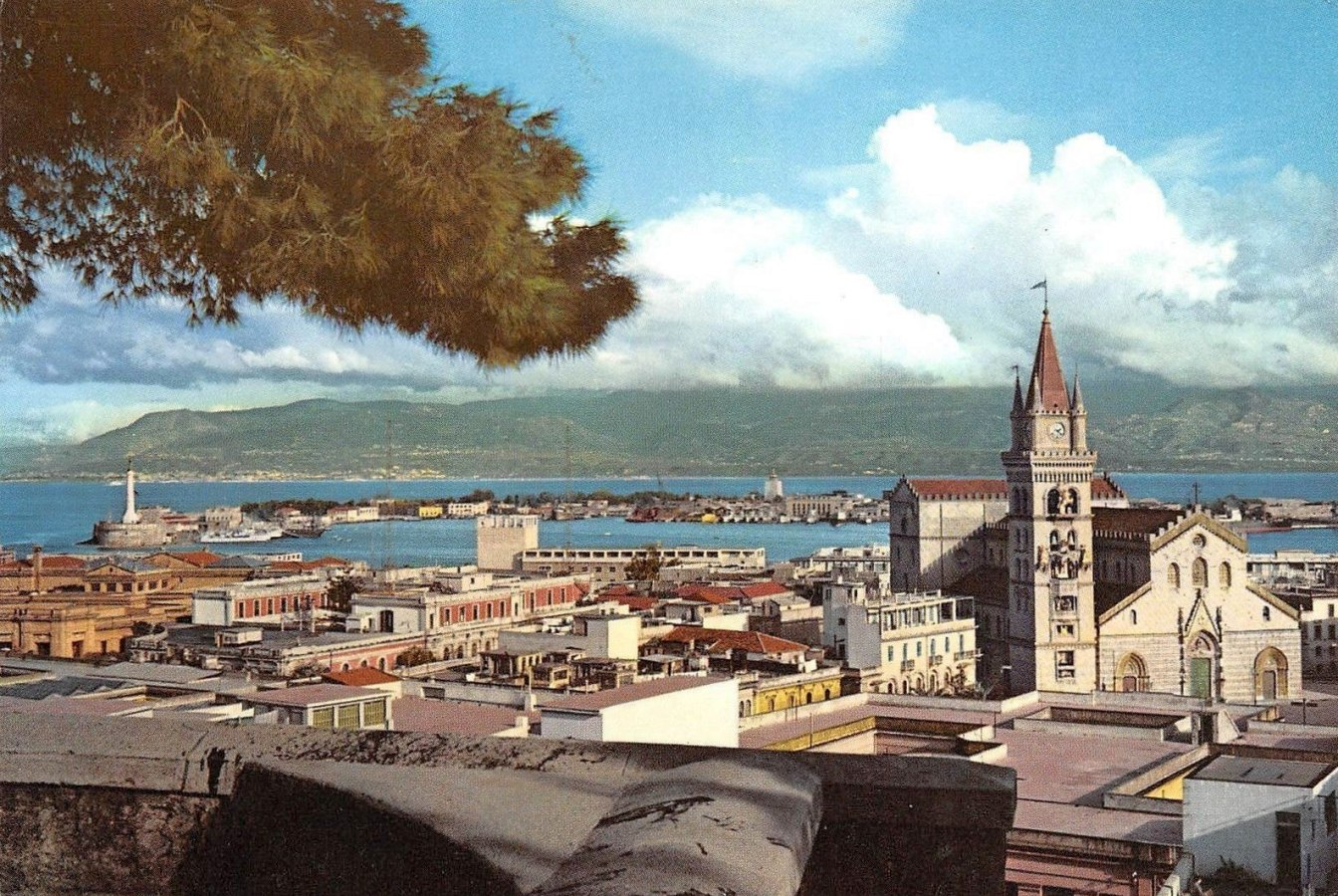 Messina - panorama anni 60